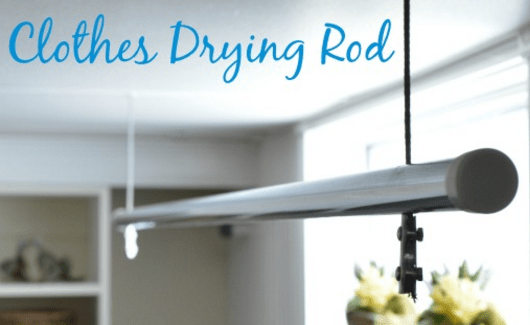 Home and garden - DIY Clothes Rod