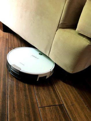 Deebot fits under furniture