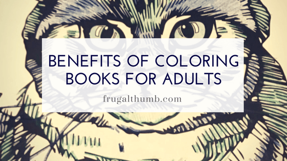 Coloring Books are not just for kids