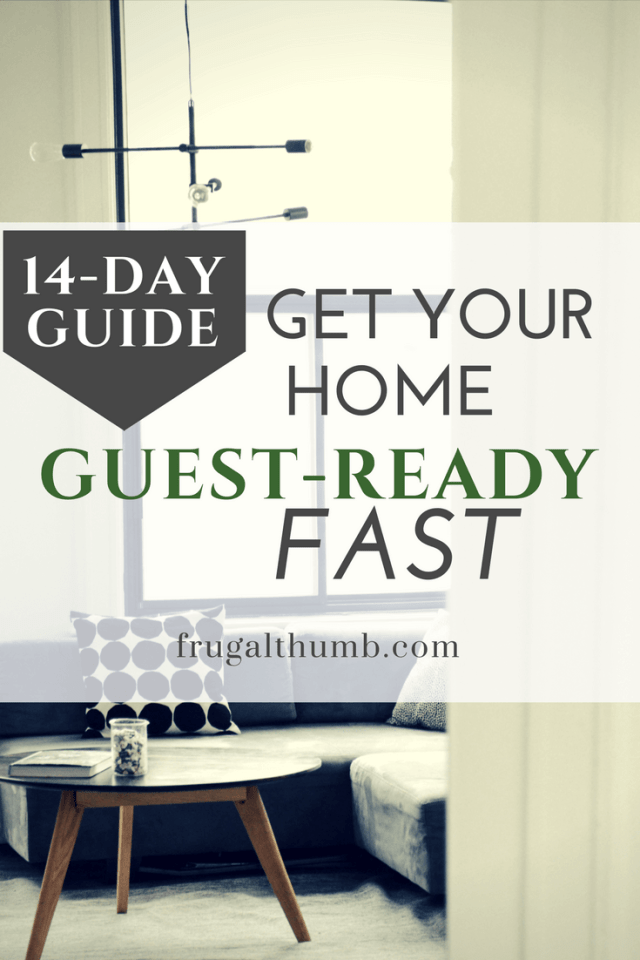 Get Your Home Guest-Ready Fast - 14-day Guide