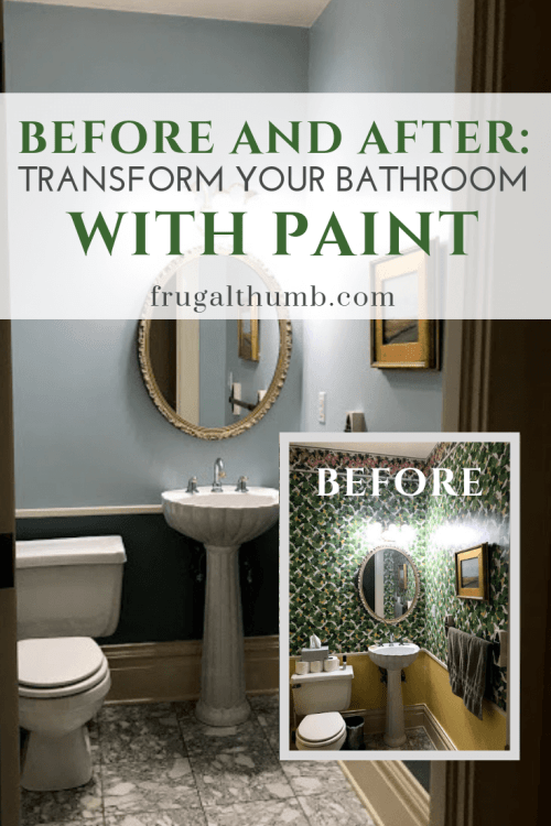 Transform Your Bathroom with Paint - Pinterest