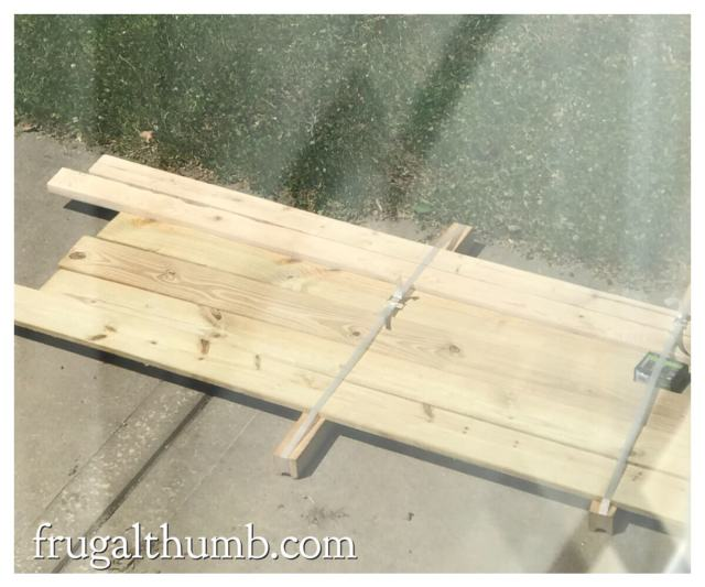 supplies for wood patio table top