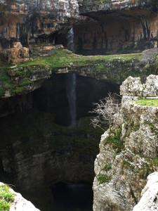 The Baatara Gorge Waterfall
