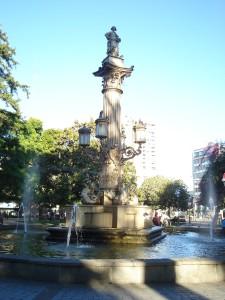 La Plaza de la Independencia, Retire Abroad to Concepción, Chile