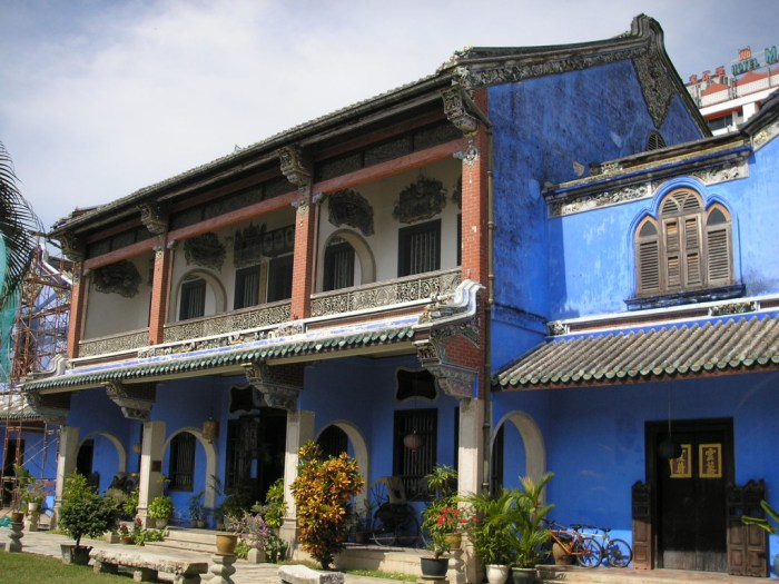 The Blue Mansion in George Town