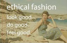Sustainable clothing feels great!