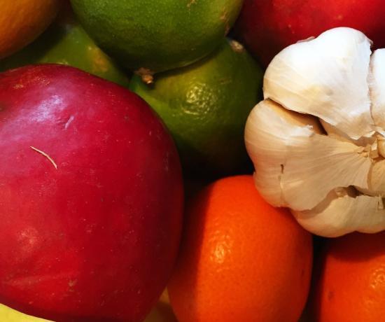 Billede af frugt