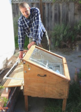 This solar drier, built out of recycled materials, has preserved hundreds of pounds of fruit.