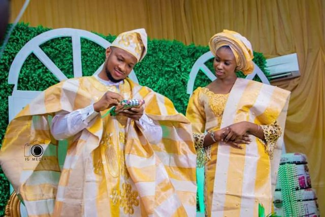 Darasimi Lawrence Oyor wedding