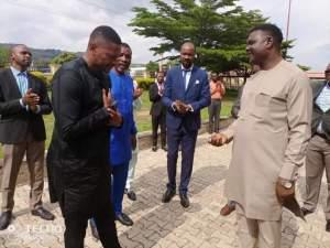 Bishop David Oyedepo's Living Faith Pastor receives car gift