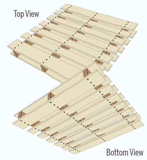 Double Wing Pallet