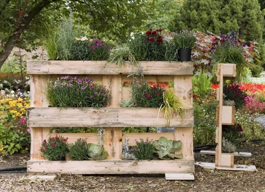 How To Create Your Own Pallet Garden Fruit Growers Supply