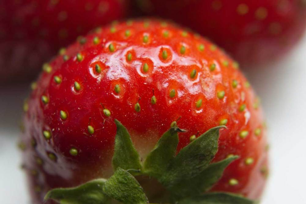 close up stawberry
