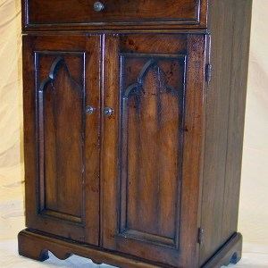 walnut nightstand antique reproduction gabe sheker