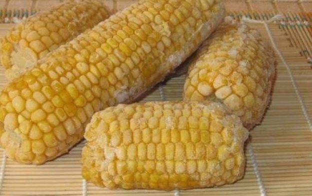 Разморозка кукурузы