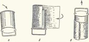 Простая схема приготовления стаканчиков для рассады