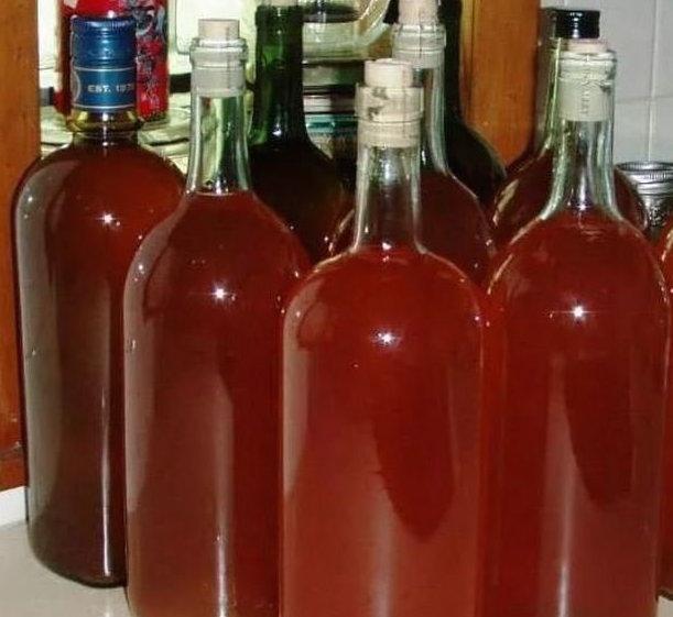 Хранение сливового вина