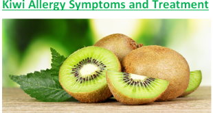 Kiwi Allergy Symptoms and Treatment
