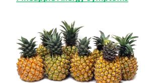 Pineapple Allergy Symptoms