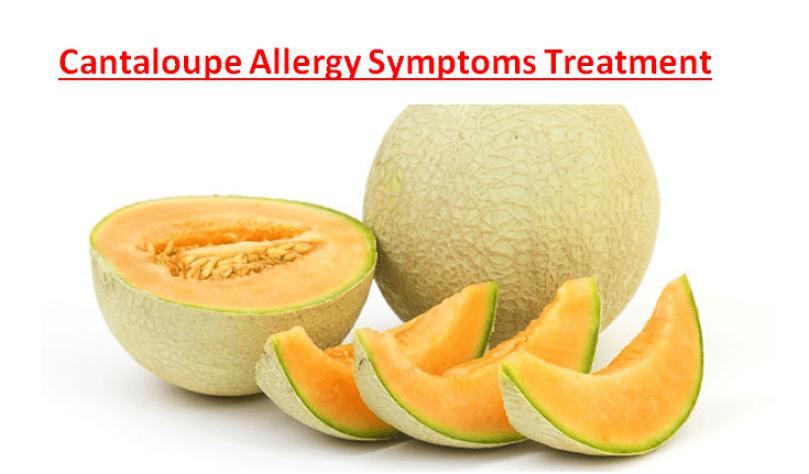 Cantaloupe Allergy Symptoms Treatment