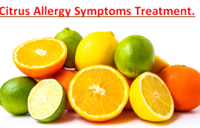Citrus Allergy Symptoms Treatment