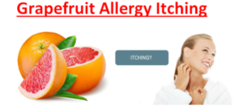 Grapefruit Allergy Itching