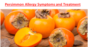 Persimmon Allergy Symptoms Treatment