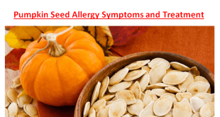 Pumpkin Seed Allergy Symptoms Treatment