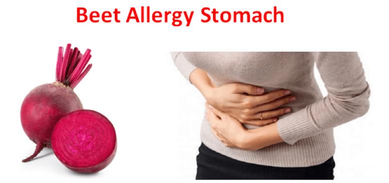 Beet Allergy Stomach