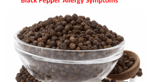 Black Pepper Allergy Symptoms