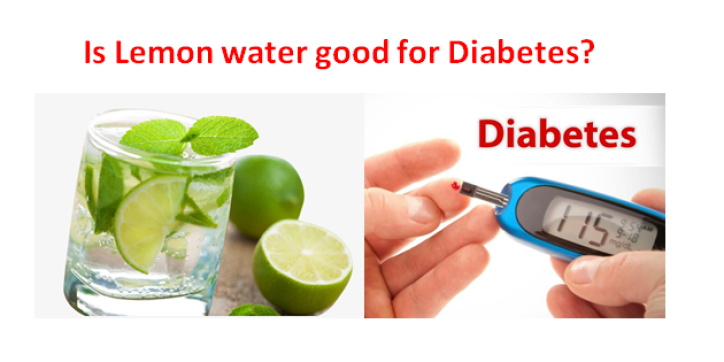 Is lemon water good for diabetes?