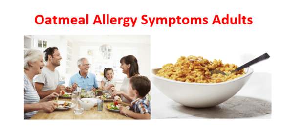 Oatmeal allergy Adults