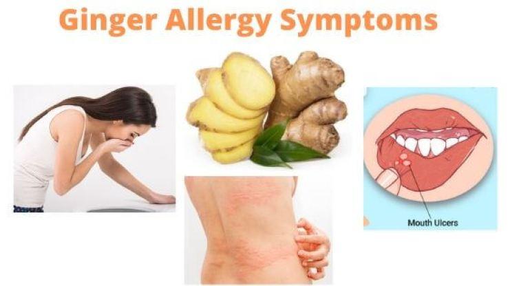 Ginger Allergy Symptoms