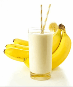 Banana shakes, juice and Smoothie for diarrhea