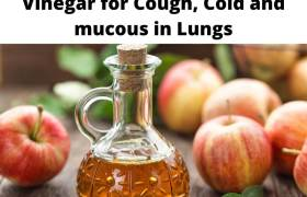 Vinegar for Cough, Cold and mucous in Lungs