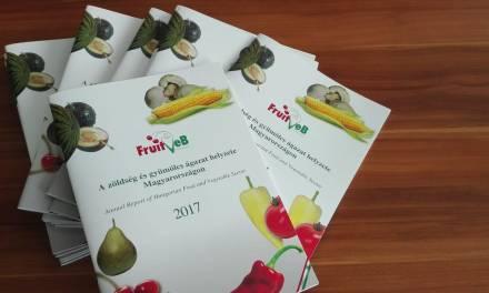 Megjelent a 2017. évi zöldség-gyümölcs ágazati tanulmány