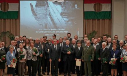 Kovács Béla Díjat kapott Nagy József, a Róna Ker-Tész vezetője