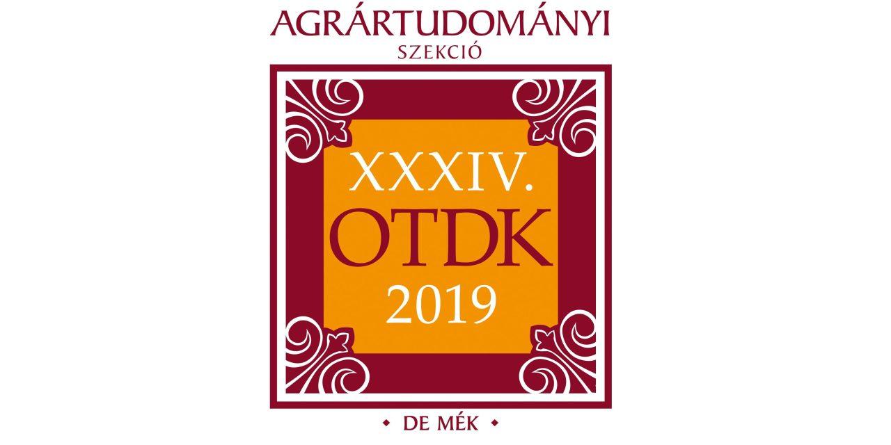 A Debreceni Egyetem hallgatói nyerték a legtöbb díjat a XXXIV. Országos Tudományos Diákköri Konferencia Agrártudományi Szekciójában