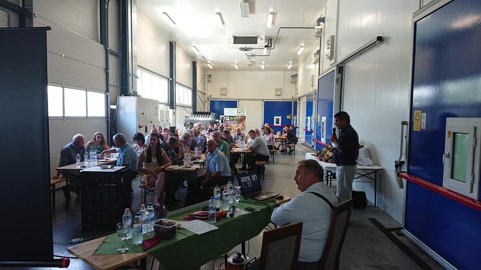 Július elején került megrendezésre az első Rábaközi Zöldség-Gyümölcs Nap Csornán, a Hanság Fertőmenti TÉSZ telephelyén a Virágzó Vidékért Egyesület szervezésében