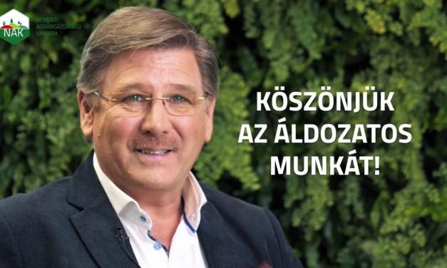 Köszönetnyilvánítás a magyar mezőgazdasági és élelmiszeripari dolgozóknak