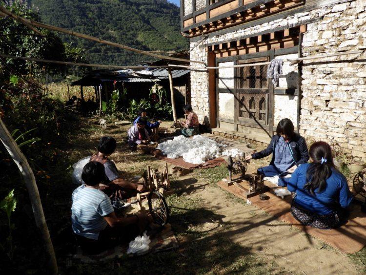ブータン チモン村