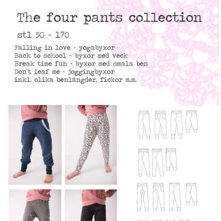 Hallonsmula Four pants collection fru kristof