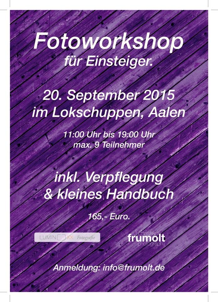 workshop 20 sep 2015