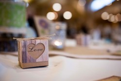 wedding reception details love box of candy