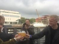 First beer tasting at Fredrikstad beer festival