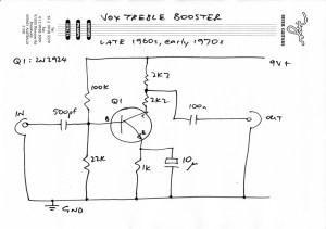 [WRG6981] Boost Pedal Wiring Diagram
