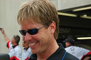 IndyCar Series driver Davey Hamilton