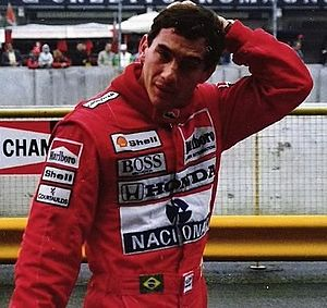 English: at San Marino/Imola Grand Prix in 1989.