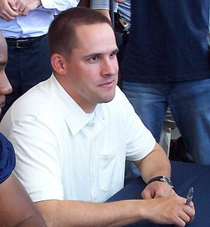 English: Josh McDaniels at the 2009 Denver Bro...