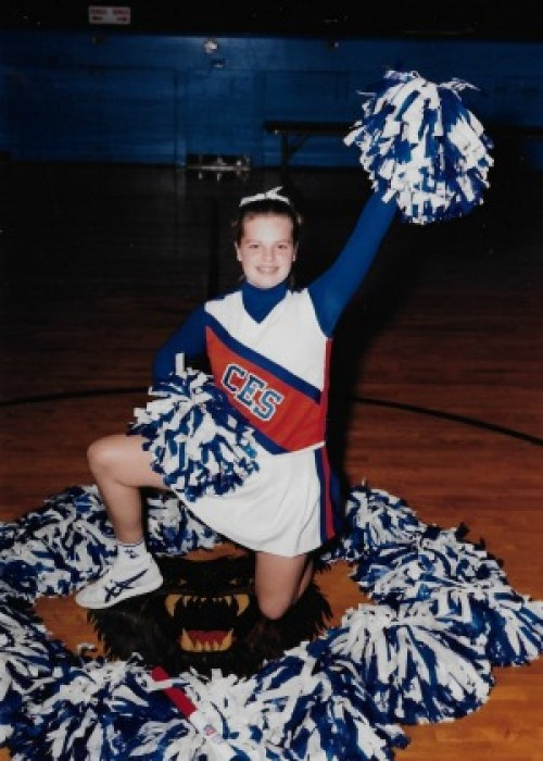 8th grade cheerleading photo